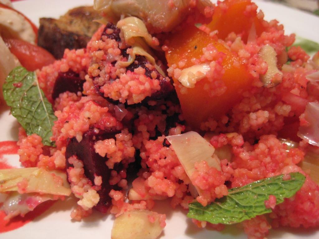 couscous beet salad