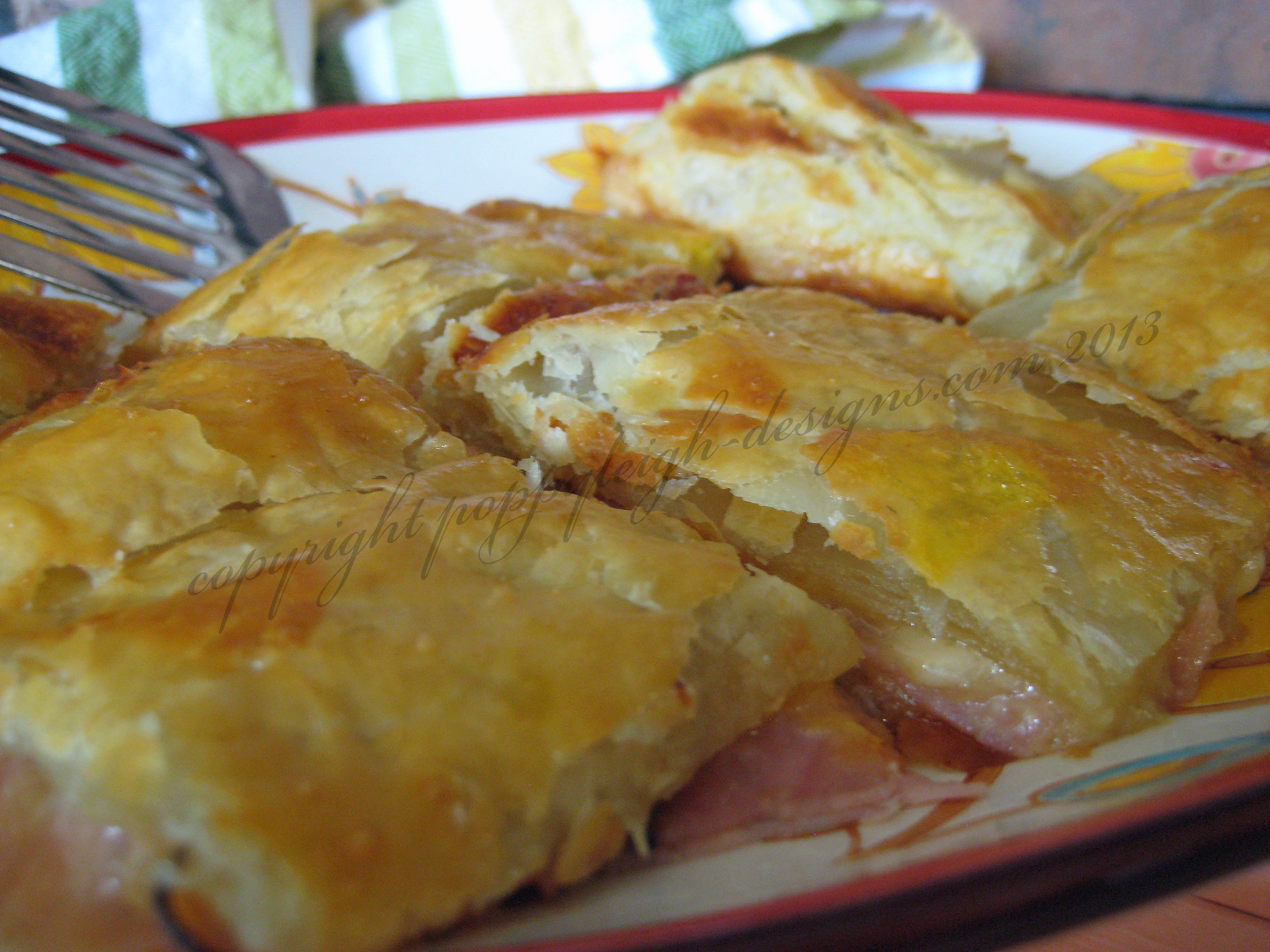 ham & cheese puff (2) WM