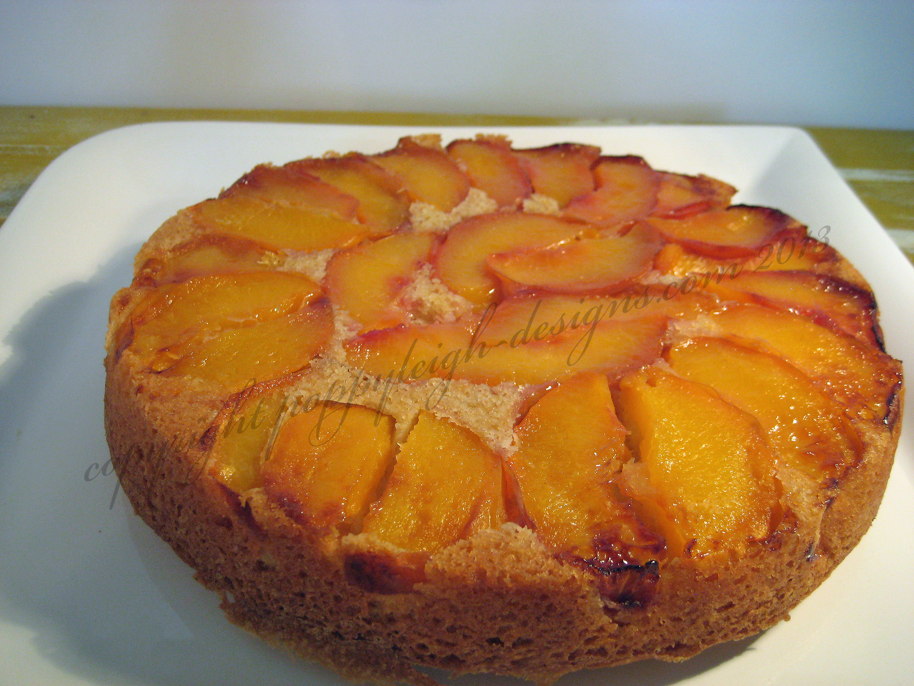peach breakfast cake (5) WM