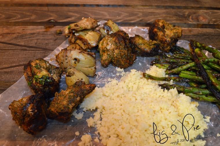 Artichoke & Asparagus Chicken Skewers  (22) WM