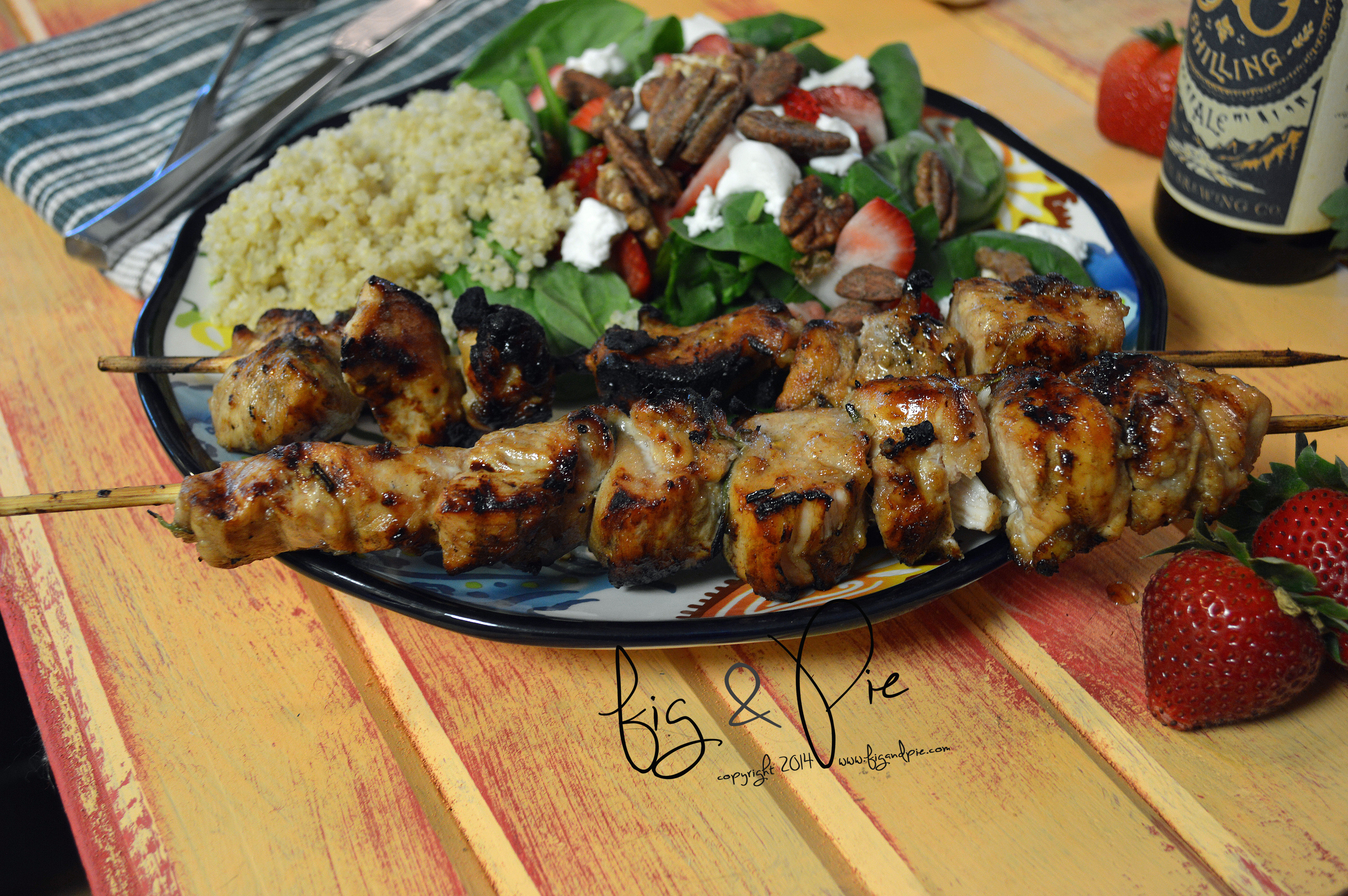 Balsamic and Honey Chicken Skewers (9) WM