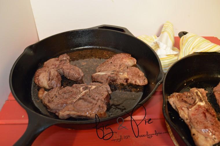 Balsamic Reduction Lamb Chops (8) WM